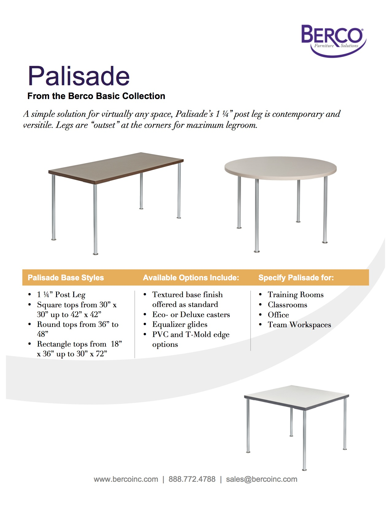 Palisade Sell Sheet