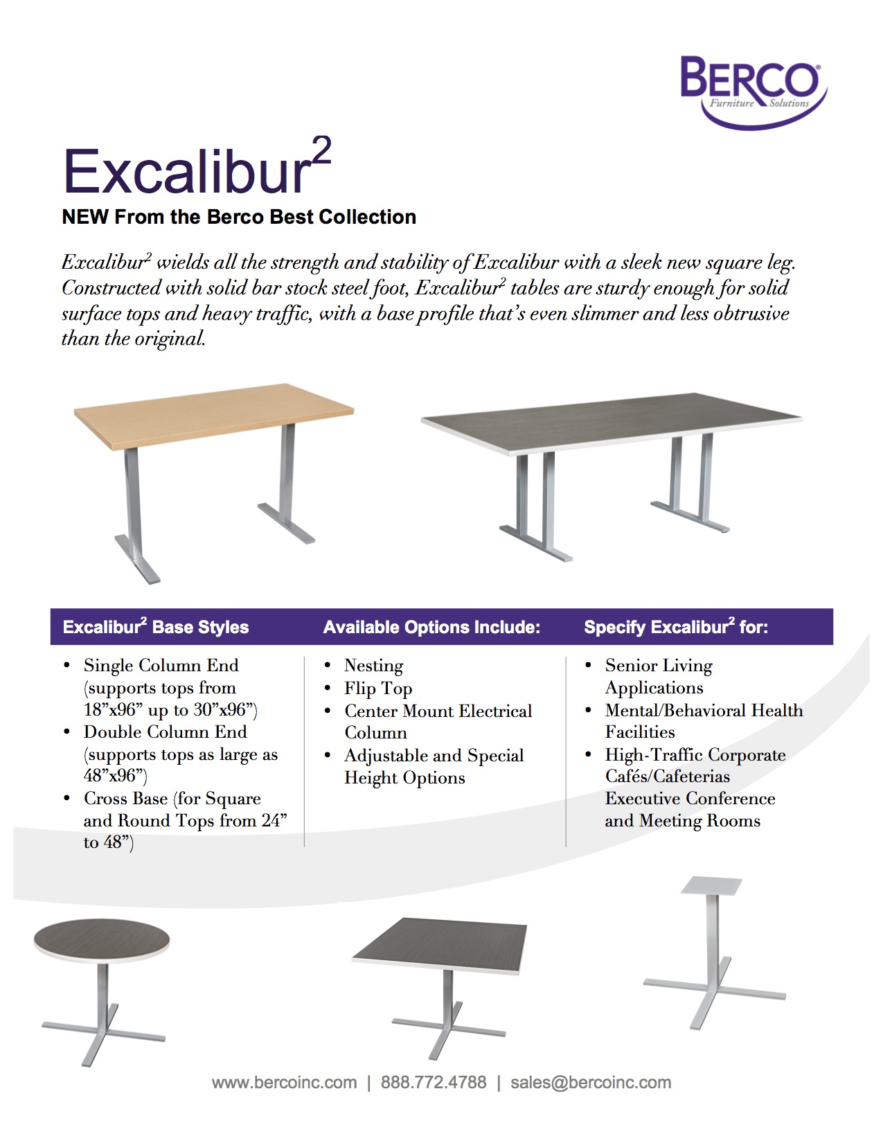 Excalibur Squared Sell Sheet