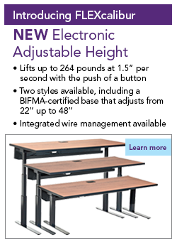 FLEXcalibur Adjustable Height Table